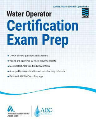 Water Operator Certification Exam Prep Cover Image