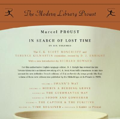 In Search of Lost Time: Proust 6-pack (Modern Library Classics) Cover Image