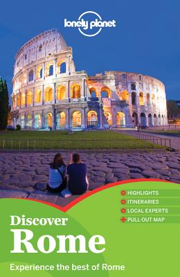 Lonely Planet Discover Rome Cover Image