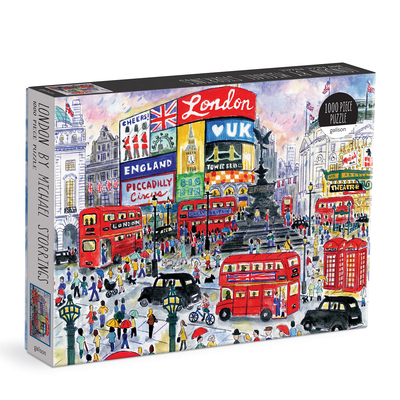 London by Michael Storrings 1000 PC Puzzle Cover Image