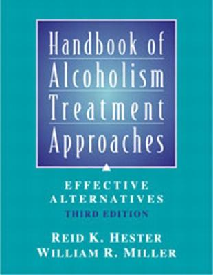Handbook of Alcoholism Treatment Approaches Cover