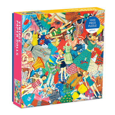 Vintage Paper Dolls 1000 Piece Puzzle in Square Box Cover Image