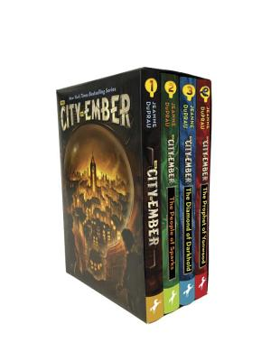 The City of Ember Complete Boxed Set: The City of Ember; The People of Sparks; The Diamond of Darkhold; The Prophet of Yonwood Cover Image