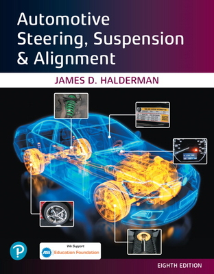 Automotive Steering, Suspension & Alignment [rental Edition] Cover Image
