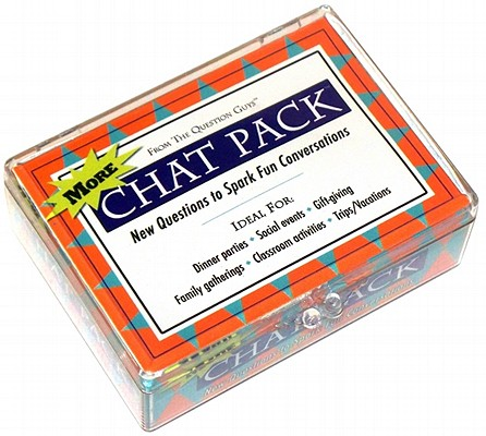 More Chat Pack Cards: New Questions to Spark Fun Conversations Cover Image