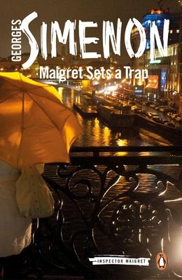 Maigret Sets a Trap (Inspector Maigret #48) Cover Image