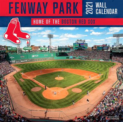 Boston Red Sox Fenway Park 2021 12x12 Stadium Wall Calendar Cover Image