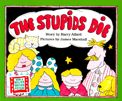 Cover for The Stupids Die