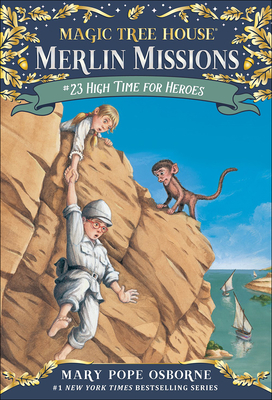 High Time for Heroes (Stepping Stone Books) Cover Image