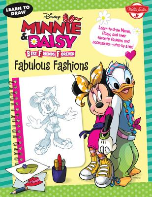 Disney Minnie & Daisy Best Friends Forever Fabulous Fashions Cover