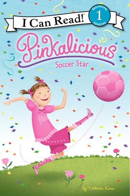 Pinkalicious: Soccer Star (I Can Read Level 1) Cover Image