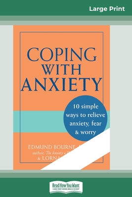 Coping with Anxiety (16pt Large Print Edition) Cover Image