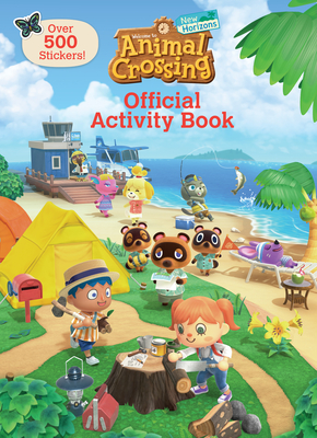 Cover for Animal Crossing New Horizons Official Activity Book (Nintendo)
