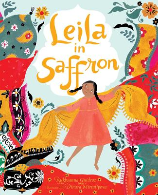 Leila in Saffron Cover Image