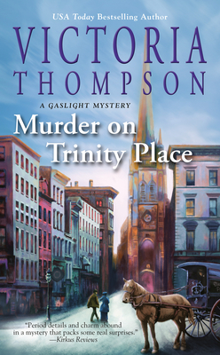 Murder on Trinity Place (A Gaslight Mystery #22) Cover Image