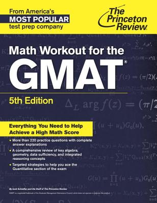 Math Workout for the GMAT, 5th Edition (Graduate School Test Preparation) Cover Image