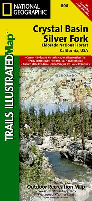 Crystal Basin, Silver Fork [eldorado National Forest] (National Geographic Maps: Trails Illustrated #806) Cover Image