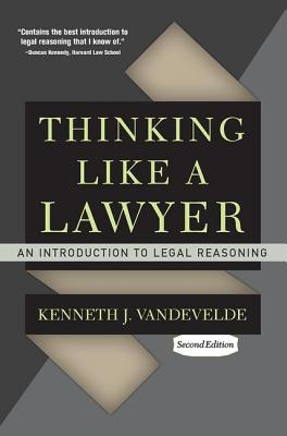 Thinking Like a Lawyer: An Introduction to Legal Reasoning Cover Image