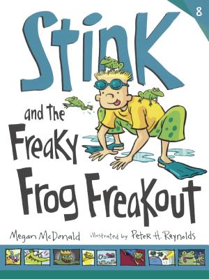 Cover for Stink and the Freaky Frog Freakout