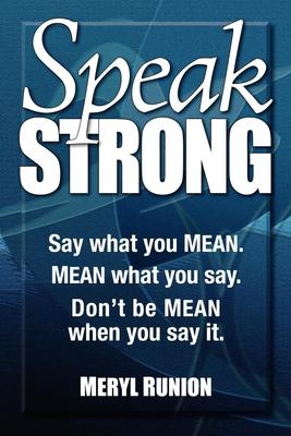 Cover for Speak Strong