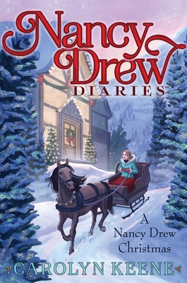 A Nancy Drew Christmas (Nancy Drew Diaries) Cover Image