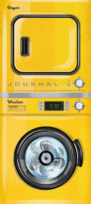 Vintage Washer/Dryer Journal Cover Image