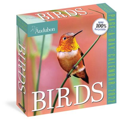 Cover for Audubon Birds Page-A-Day Calendar 2022