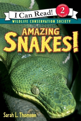 Amazing Snakes! (I Can Read Level 2) Cover Image