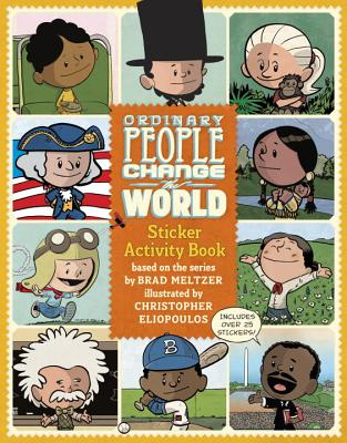 Ordinary People Change the World Sticker Activity Book Cover Image