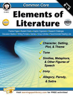 Common Core: Elements of Literature, Grades 6 - 8 Cover Image
