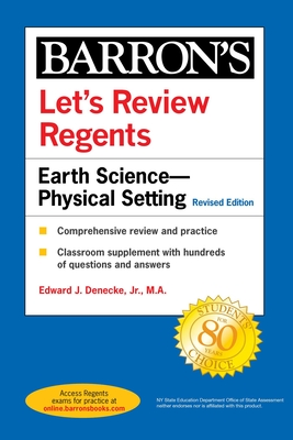 Let's Review Regents: Earth Science--Physical Setting Revised Edition (Barron's Regents NY) Cover Image