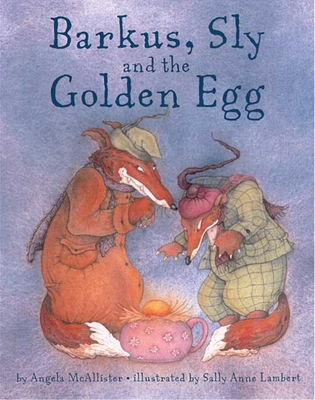 Barkus, Sly and the Golden Egg Cover