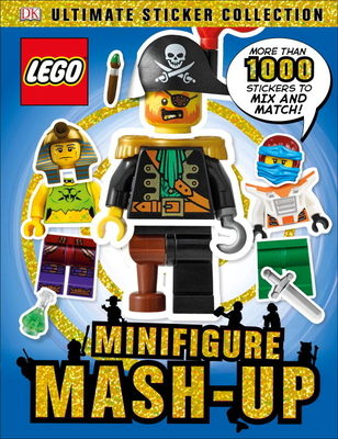 Ultimate Sticker Collection: LEGO Minifigure: Mash-up! Cover Image