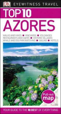 Top 10 Azores (DK Eyewitness Travel Guide) Cover Image
