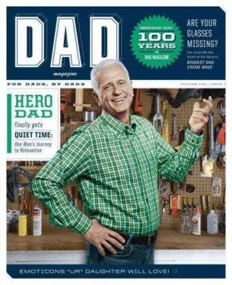 Cover for Dad Magazine