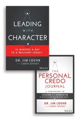 Leading with Character: 10 Minutes a Day to a Brilliant Legacy Set Cover Image