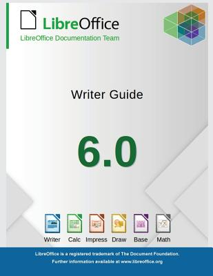 LibreOffice 6.0 Writer Guide Cover Image