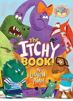 The Itchy Book! (Elephant & Piggie Like Reading!) Cover Image