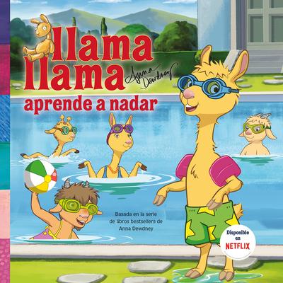 Llama, Llama aprende a nadar / Llama Llama Learns to Swim Cover Image