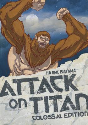 Attack on Titan: Colossal Edition 4 cover image