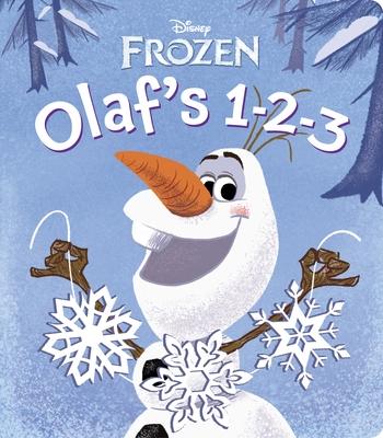 Olaf's 1-2-3 (Disney Frozen) Cover Image
