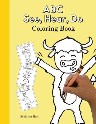 ABC See, Hear, Do Coloring Book Cover Image