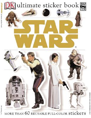 Star Wars [With Reusable Stickers] (DK Ultimate Sticker Books) Cover Image