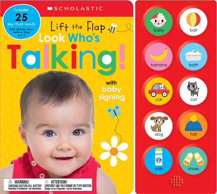 Look Who's Talking!: Scholastic Early Learners (Sound Book) Cover Image