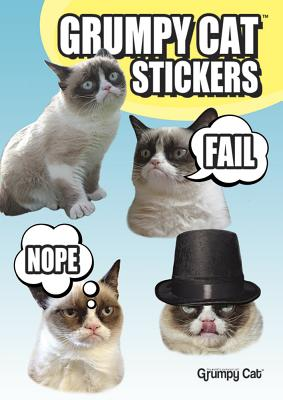 Grumpy Cat Stickers Cover Image