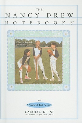 Strike-Out Scare (Nancy Drew Notebooks (Pb) #65) Cover Image
