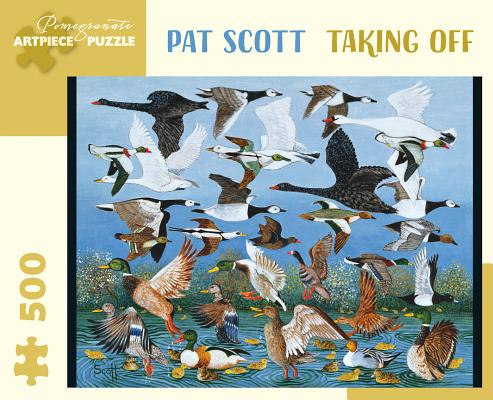 Pat Scott: Taking Off 500-Piece Jigsaw Puzzle Cover Image