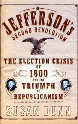Jefferson's Second Revolution Cover