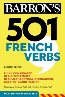 501 French Verbs (Barron's 501 Verbs) Cover Image