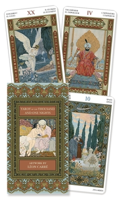 Tarot of the Thousand and One Nights (78 Cards with Instructions) Cover Image